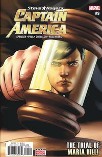 Cover Thumbnail for Captain America: Steve Rogers (Marvel, 2016 series) #9