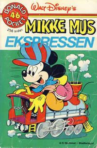 Cover Thumbnail for Donald Pocket (Hjemmet / Egmont, 1968 series) #46 - Mikke Mus ekspressen [1. opplag Reutsendelse 269 99]