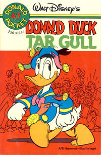 Cover Thumbnail for Donald Pocket (Hjemmet / Egmont, 1968 series) #47 - Donald Duck tar gull [1. opplag]