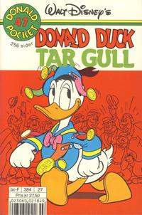 Cover Thumbnail for Donald Pocket (Hjemmet / Egmont, 1968 series) #47 - Donald Duck tar gull [2. utgave bc-F 384 27]