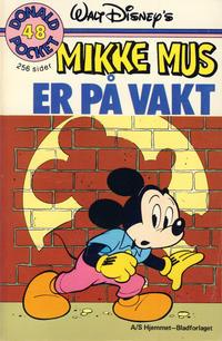 Cover Thumbnail for Donald Pocket (Hjemmet / Egmont, 1968 series) #48 - Mikke Mus er på vakt [1. opplag]