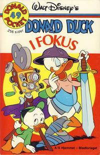 Cover Thumbnail for Donald Pocket (Hjemmet / Egmont, 1968 series) #49 - Donald Duck i fokus [1. opplag]