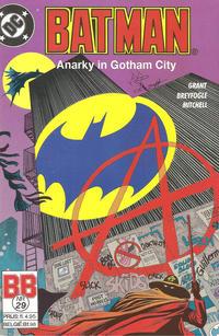 Cover Thumbnail for Batman (Juniorpress, 1985 series) #29