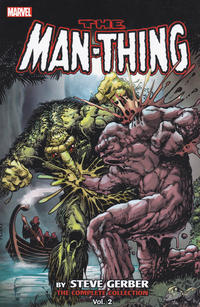 Cover Thumbnail for Man-Thing by Steve Gerber: The Complete Collection (Marvel, 2015 series) #2
