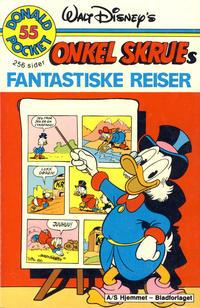 Cover Thumbnail for Donald Pocket (Hjemmet / Egmont, 1968 series) #55 - Onkel Skrues fantastiske reiser [1. opplag]