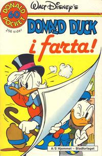 Cover Thumbnail for Donald Pocket (Hjemmet / Egmont, 1968 series) #60 - Donald Duck i farta! [1. opplag]