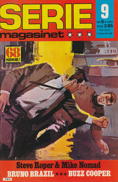 Cover for Seriemagasinet (Semic, 1970 series) #9/1976