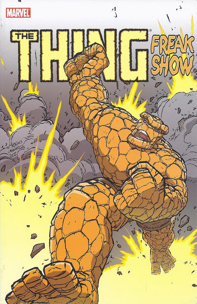 Cover for Thing: Freakshow (Marvel, 2005 series)