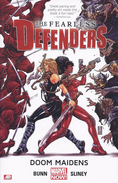 Cover for Fearless Defenders (Marvel, 2013 series) #1 - Doom Maidens