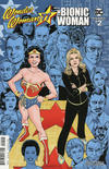 Cover for Wonder Woman '77 Meets the Bionic Woman (Dynamite Entertainment, 2016 series) #2 [Cover B Lopresti]
