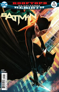 Cover Thumbnail for Batman (DC, 2016 series) #15