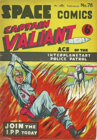 Cover Thumbnail for Space Comics (Arnold Book Company, 1953 series) #78