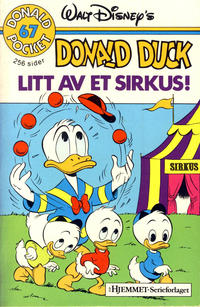 Cover Thumbnail for Donald Pocket (Hjemmet / Egmont, 1968 series) #67 - Donald Duck Litt av et sirkus! [1. opplag]