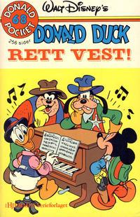 Cover Thumbnail for Donald Pocket (Hjemmet / Egmont, 1968 series) #68 - Donald Duck Rett vest! [1. opplag]