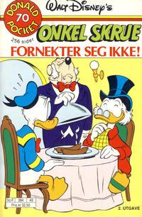 Cover Thumbnail for Donald Pocket (Hjemmet / Egmont, 1968 series) #70 - Onkel Skrue fornekter seg ikke! [2. utgave bc-F 384 49]
