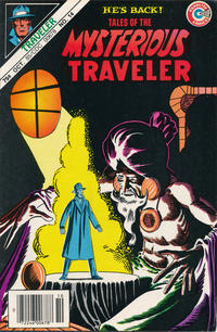 Cover Thumbnail for Tales of the Mysterious Traveler (Charlton, 1956 series) #14 [Newsstand]