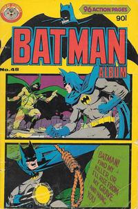 Cover Thumbnail for Batman Album (K. G. Murray, 1976 series) #48