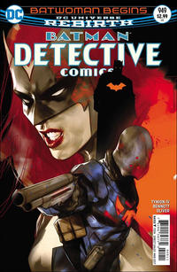 Cover Thumbnail for Detective Comics (DC, 2011 series) #949