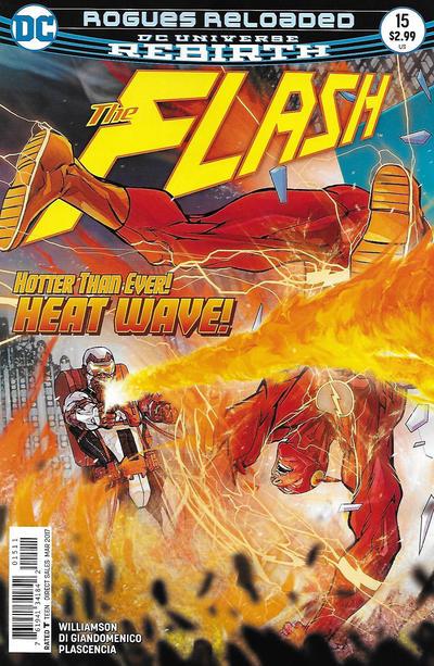 Cover for The Flash (DC, 2016 series) #15 [Carmine Di Giandomenico Cover]
