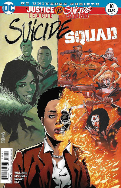 Cover for Suicide Squad (DC, 2016 series) #10 [Newsstand]