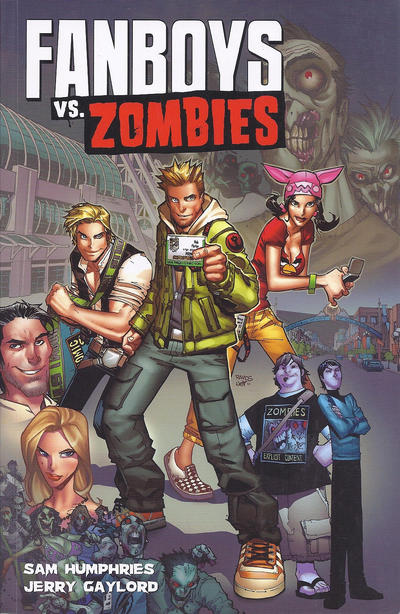 Cover for Fanboys vs. Zombies (Boom! Studios, 2012 series) #1 - Wrecking Crew 4 Lyfe