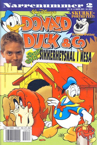 Cover for Donald Duck & Co (Hjemmet / Egmont, 1948 series) #10/2001