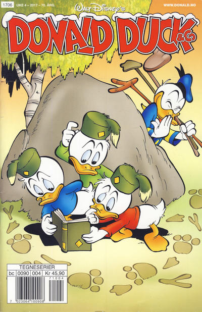Cover for Donald Duck & Co (Hjemmet / Egmont, 1948 series) #4/2017