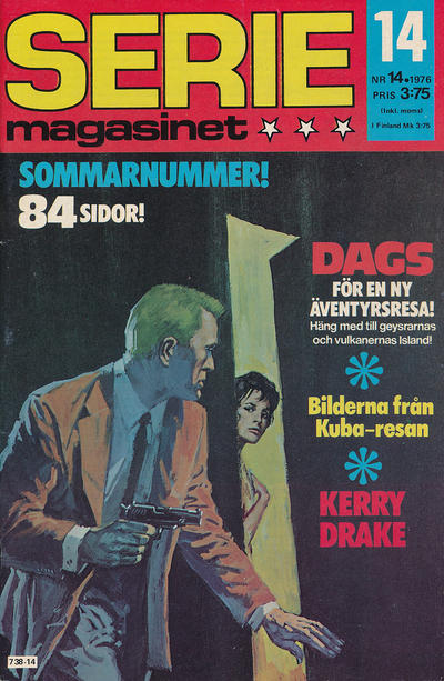 Cover for Seriemagasinet (Semic, 1970 series) #14/1976