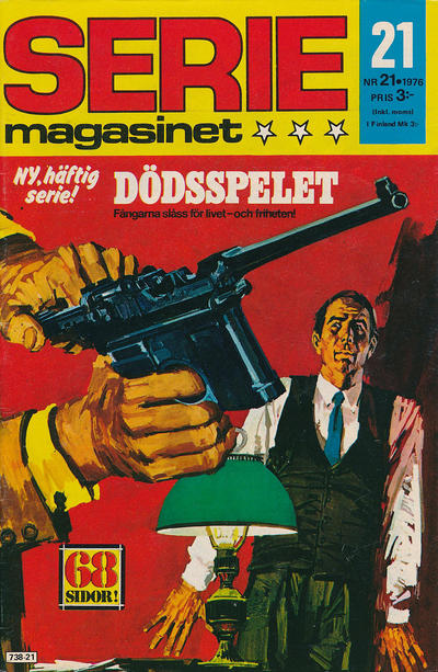 Cover for Seriemagasinet (Semic, 1970 series) #21/1976