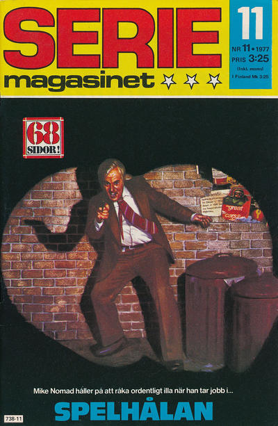 Cover for Seriemagasinet (Semic, 1970 series) #11/1977