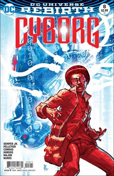 Cover for Cyborg (DC, 2016 series) #8 [Will Conrad Cover]