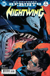 Cover for Nightwing (DC, 2016 series) #12 [Ivan Reis / Oclair Albert Cover]