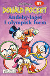 Cover Thumbnail for Donald Pocket (1968 series) #89 - Andeby-laget i olympisk form [2. utgave bc 390 70]