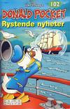 Cover Thumbnail for Donald Pocket (1968 series) #102 - Rystende nyheter [2. opplag bc 239 02]