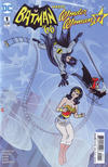 Cover Thumbnail for Batman '66 Meets Wonder Woman '77 (2017 series) #1 [Michael Allred Cover]