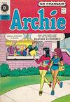Cover for Archie (Editions Héritage, 1971 series) #8