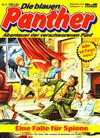 Cover for Die blauen Panther (Bastei Verlag, 1980 series) #9 - Eine Falle für Spione