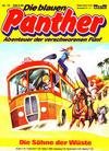Cover for Die blauen Panther (Bastei Verlag, 1980 series) #15 - Die Söhne der Wüste