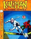 Cover for Kalimán El Hombre Increíble (Promotora K, 1965 series) #7