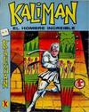Cover for Kalimán El Hombre Increíble (Promotora K, 1965 series) #8
