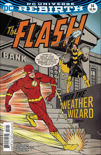 Cover Thumbnail for The Flash (DC, 2016 series) #14 [Dave Johnson Variant Cover]