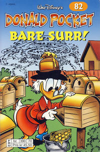 Cover Thumbnail for Donald Pocket (Hjemmet / Egmont, 1968 series) #82 - Bare surr! [2. utgave bc 390 70]