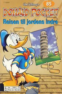 Cover Thumbnail for Donald Pocket (Hjemmet / Egmont, 1968 series) #85 - Reisen til jordens indre [2. utgave bc 390 70]