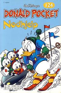 Cover Thumbnail for Donald Pocket (Hjemmet / Egmont, 1968 series) #124 - Nødhjelp [2. utgave bc 239 04]