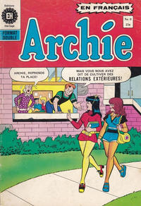 Cover Thumbnail for Archie (Editions Héritage, 1971 series) #8