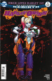 Cover Thumbnail for Harley Quinn (DC, 2016 series) #11 [Newsstand]