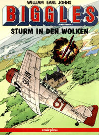 Cover Thumbnail for Biggles Sonderband (comicplus+, 1994 series) #2 - Sturm in den Wolken