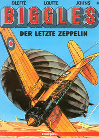 Cover Thumbnail for Biggles (comicplus+, 1992 series) #6 - Der letzte Zeppelin