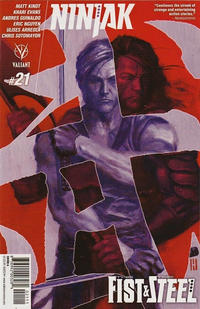 Cover Thumbnail for Ninjak (Valiant Entertainment, 2015 series) #21 [Cover A - Mike Choi]