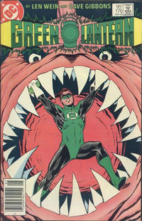 Cover for Green Lantern (DC, 1960 series) #176 [Newsstand]